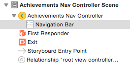 Select the navigation bar of your navigation controller