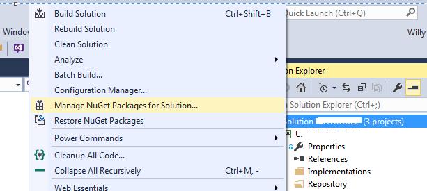 NUGET ORACLE DATAACCESS CLIENT - Créer une API en C# avec