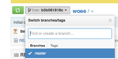 Branch from previous commit