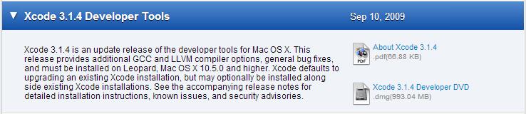 Où puis-je télécharger les anciennes versions de Xcode?